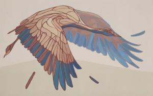 Crane PinturadeTaquen  Compra arte en Flecha.es
