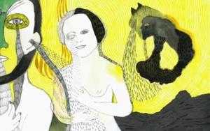 Chorar o diluvio|DibujodeReme Remedios| Compra arte en Flecha.es