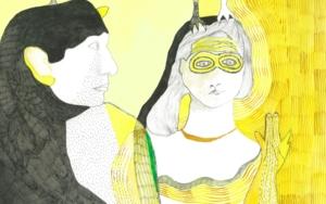 Chorar o aire|DibujodeReme Remedios| Compra arte en Flecha.es