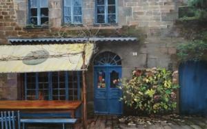 Dinan-Bretaña|PinturadeCarmen Nieto| Compra arte en Flecha.es