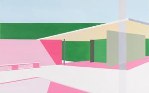 Mies Van der Rohe|PinturadeMarcos Peinado| Compra arte en Flecha.es