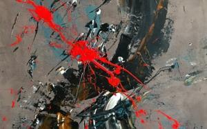 FUEGO Y TIERRA|PinturadeALFREDO MOLERO DOVAL| Compra arte en Flecha.es