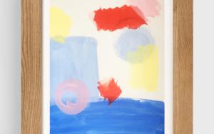 Echo de Menos El Mar|PinturadeVioleta Maya| Compra arte en Flecha.es