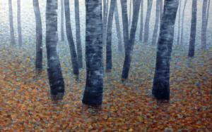 Paisaje de otoño|PinturadeCharlotte Adde| Compra arte en Flecha.es
