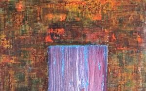 Puerta matérica PinturadeEnric Correa  Compra arte en Flecha.es
