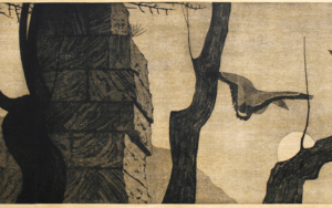 Vuelo de patos|DibujodeEnrique González| Compra arte en Flecha.es