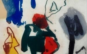 El Paseante , 1er Premio XX Certamen de grabado  José Caballero de las Rozas de Madrid|Obra gráficadeEduardo Vega de Seoane| Compra arte en Flecha.es