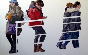 Cuatro mujeres PinturadeJESÚS MANUEL MORENO  Compra arte en Flecha.es