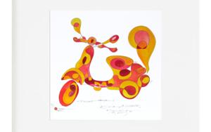 Vespa - Curvisme Obra gráficadeRICHARD MARTIN  Compra arte en Flecha.es