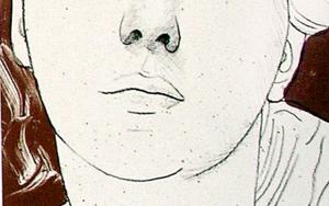 Retrato I|DibujodeEnrique González| Compra arte en Flecha.es