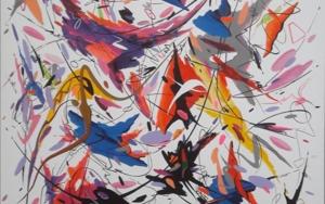 E lucevan le stelle - Puccini|PinturadeValeriano Cortázar| Compra arte en Flecha.es