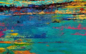 Abstracción al Alba|PinturadeGossediletto| Compra arte en Flecha.es