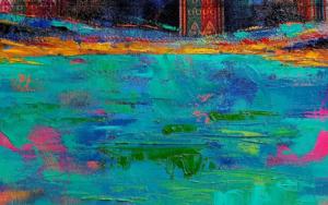 Deconstrucción de un Paisaje Andino|PinturadeGossediletto| Compra arte en Flecha.es