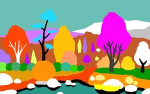 El camino del lago|DibujodeALEJOS| Compra arte en Flecha.es