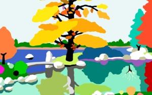 El pequeño puente|DibujodeALEJOS| Compra arte en Flecha.es