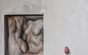 La Ventana y el Mirón PinturadeVíctor Bayonas  Compra arte en Flecha.es