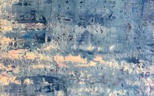Azul matérico|PinturadeEnric Correa| Compra arte en Flecha.es