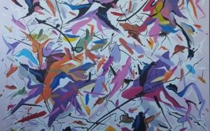 Air on G string - J.S. Bach|PinturadeValeriano Cortázar| Compra arte en Flecha.es