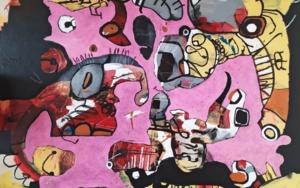 thinking the impossible|PinturadeHéctor Glez| Compra arte en Flecha.es