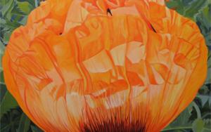 """Amapola""|PinturadeCarmen Varela| Compra arte en Flecha.es"