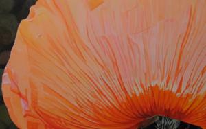 """Pétalos que bailan I""|PinturadeCarmen Varela| Compra arte en Flecha.es"