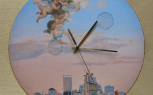 Reloj Murillo y yo|FotografíadeCarmen Varela| Compra arte en Flecha.es
