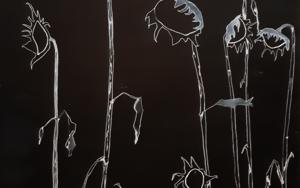 Girasoles|DibujodeAntonio  Vázquez-Martín| Compra arte en Flecha.es