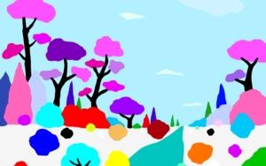 Paisaje nevado 2|DibujodeALEJOS| Compra arte en Flecha.es