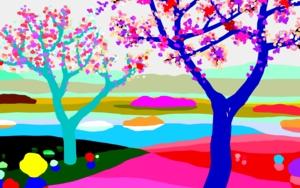 En flor|DibujodeALEJOS| Compra arte en Flecha.es