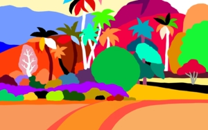 Tributo a Gauguin|DigitaldeALEJOS| Compra arte en Flecha.es