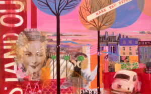 Stand out|CollagedeMaría Burgaz| Compra arte en Flecha.es