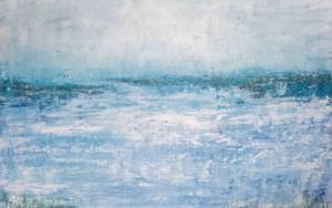 Wind on the sea|PinturadeLucia Garcia Corrales| Compra arte en Flecha.es