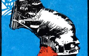 Tribu Mangbetu|CollagedeAlicia Calbet| Compra arte en Flecha.es