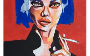 Lisa|IlustracióndeVito Thiel| Compra arte en Flecha.es