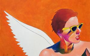 Sefie|IlustracióndeVito Thiel| Compra arte en Flecha.es
