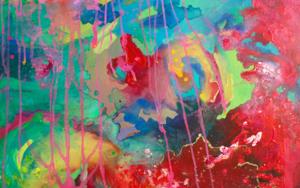 Espacio tiempo PinturadeÁngeles Romo  Compra arte en Flecha.es