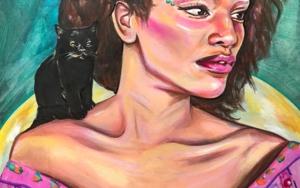 El confidente|DibujodeÁngeles Romo| Compra arte en Flecha.es