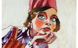 Katty|IlustracióndeVito Thiel| Compra arte en Flecha.es