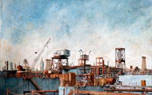 Brooklyn Navy Yard FotografíadeCarlos Arriaga  Compra arte en Flecha.es