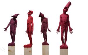 A Red Joint|EsculturadeÁlvaro de Matías| Compra arte en Flecha.es