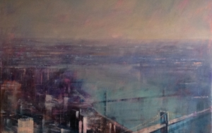 N.York aereo|PinturadeISABEL  AVILA| Compra arte en Flecha.es
