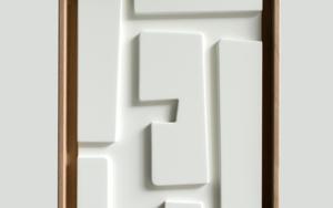 Blanco sobre blanco_04|Escultura de pareddeCandela Muniozguren| Compra arte en Flecha.es
