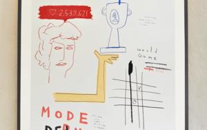 Modern Deities Serie|DibujodeToni Salom| Compra arte en Flecha.es