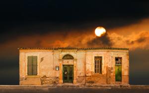 Lone building 32, Nicosia, Chipre|DigitaldeAndy Sotiriou| Compra arte en Flecha.es