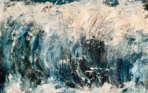 LA OLA II|PinturadeErika Nolte| Compra arte en Flecha.es