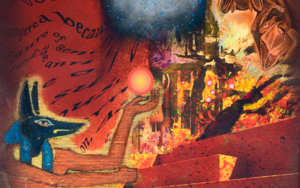 Anubis|DigitaldeHelena Revuelta| Compra arte en Flecha.es