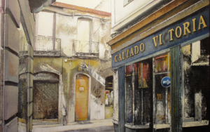 Calzados Victoria-León PinturadeTOMAS CASTAÑO  Compra arte en Flecha.es