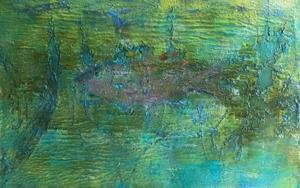 Pez matérico|PinturadeEnric Correa| Compra arte en Flecha.es