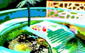 Una isla del Caribe DibujodeALEJOS  Compra arte en Flecha.es
