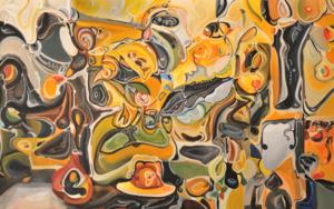 © El Somni - curvisme 229 PinturadeRICHARD MARTIN  Compra arte en Flecha.es